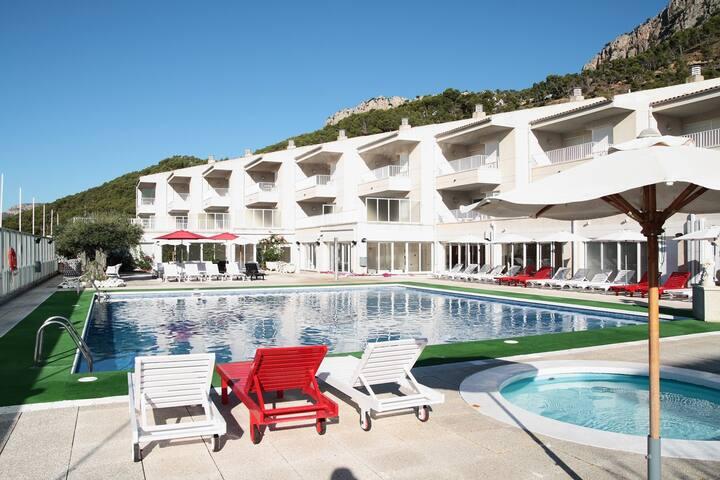 apartamento Centremar , vista piscina, (5 adultos) - Torroella de Montgrí - Apartamento