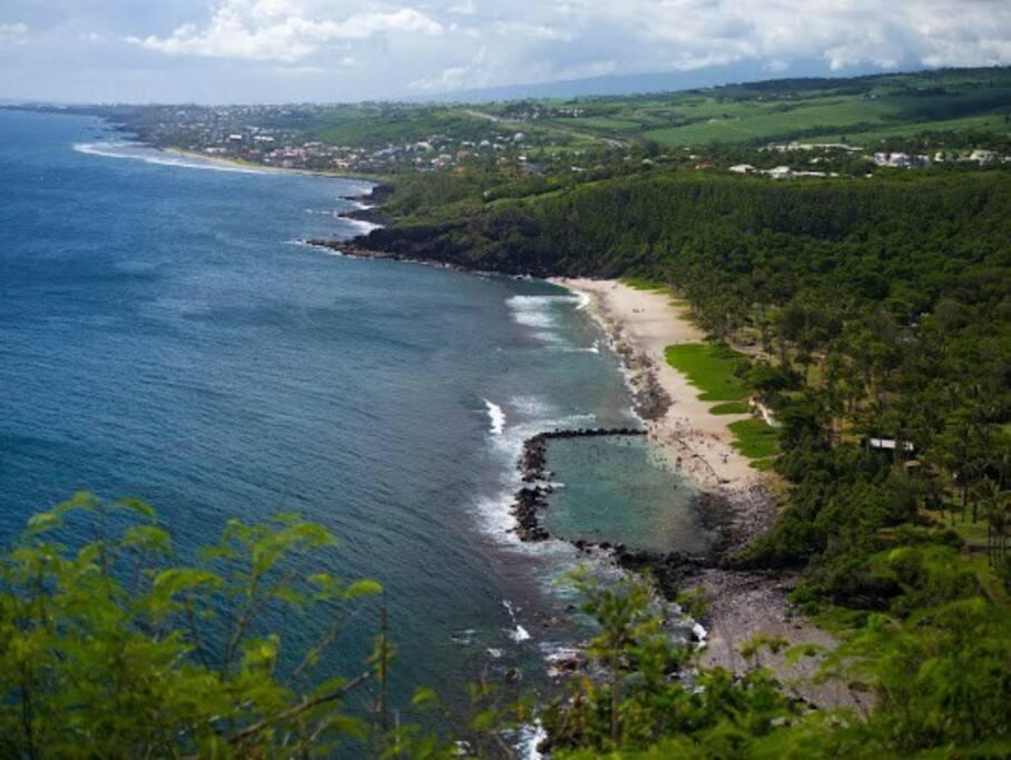 Pas loin, la plage de Grand Anse