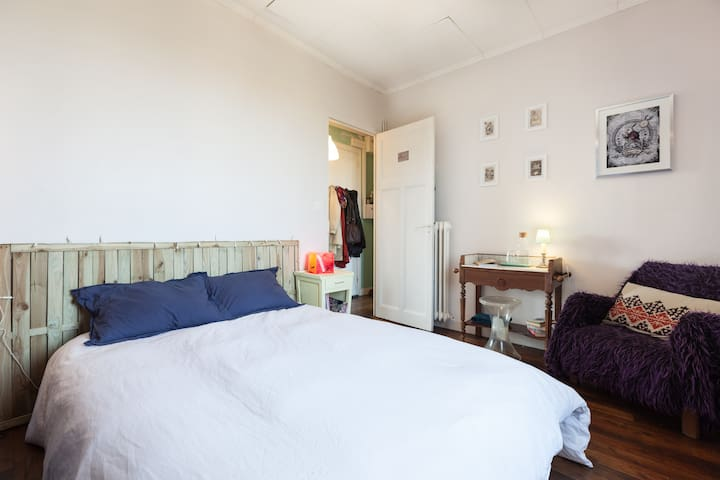 Charming and calm bedroom, downtown - Rennes - Lägenhet