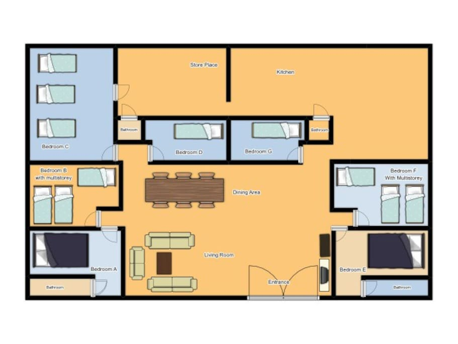 Homestay Layout