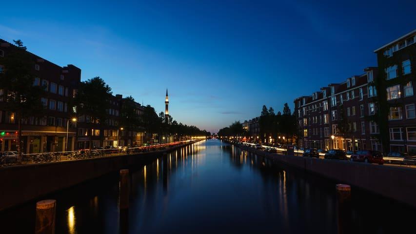 Canal appt near city centre