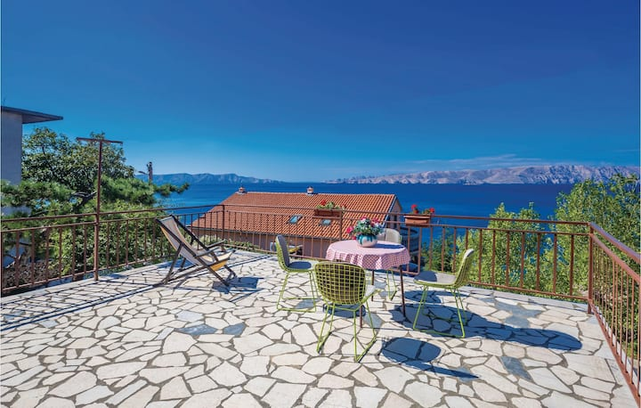Amazing home in Senj with 1 Bedrooms