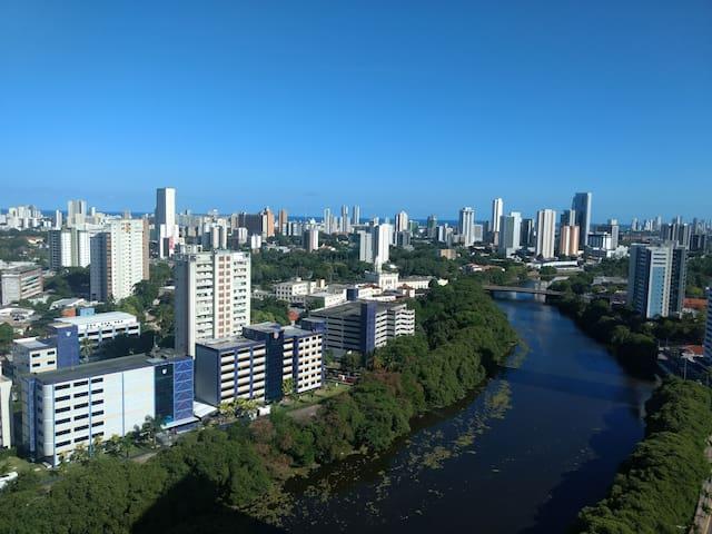 QUARTO RIO CAPIBARIBE  - Av Beira Rio  Madalena