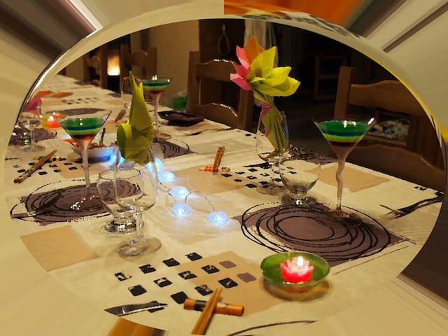 Atelier cuisine: sushi et autres - Sorbais - Гестхаус