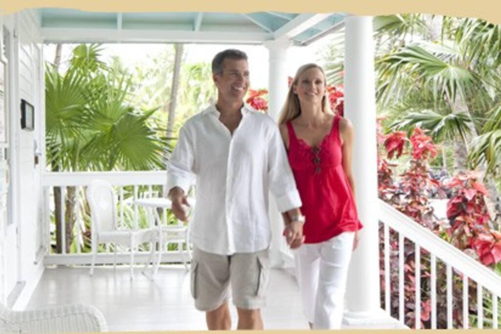 Old Key West Style Verandas