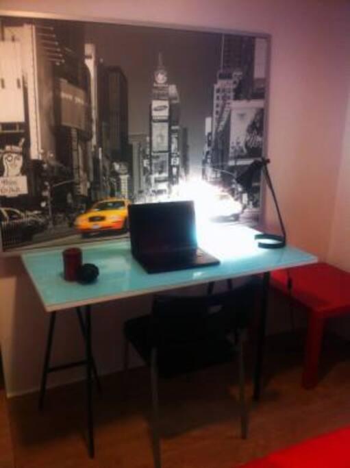 Escritorio y acceso a internet