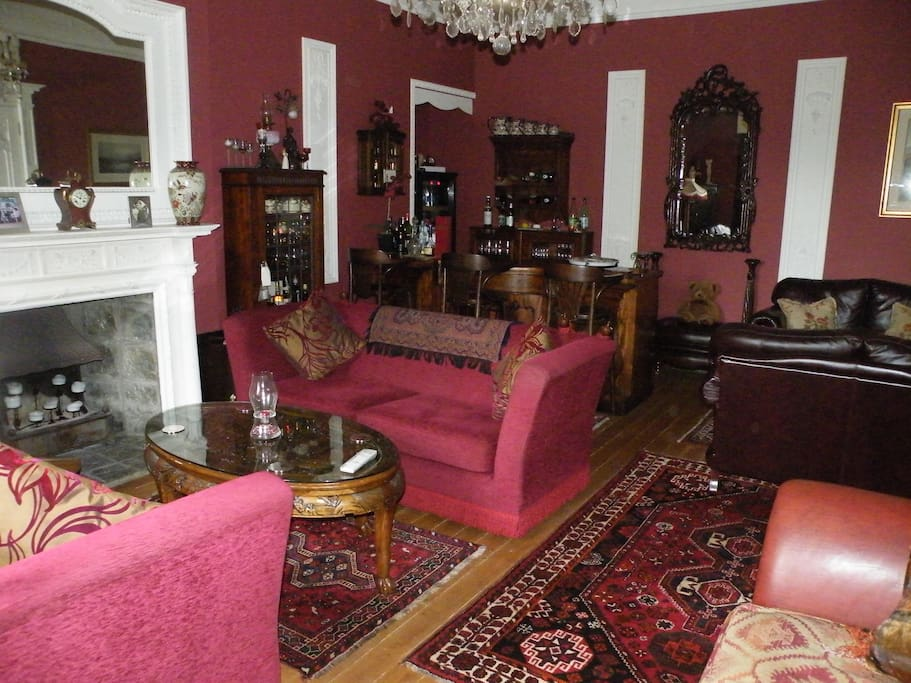 Drawing Room and Honesty Bar!