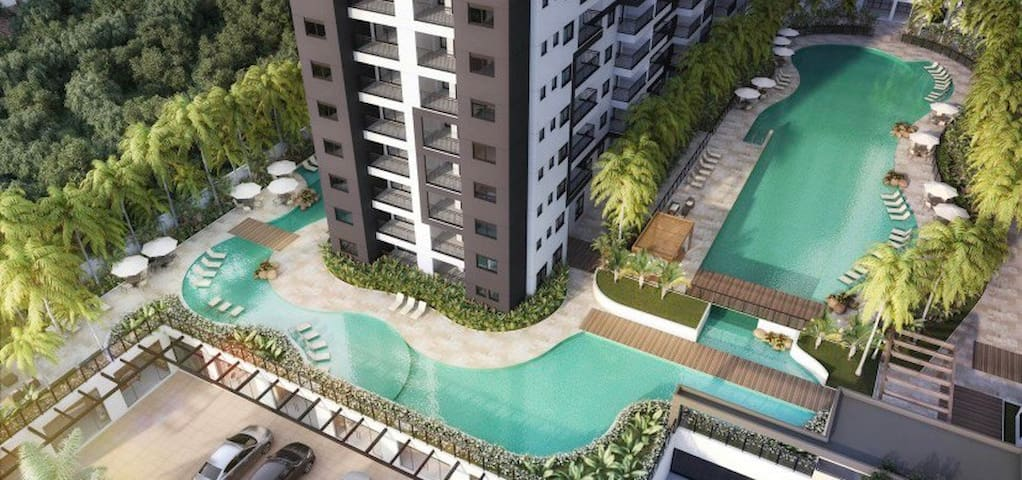 Piscine Home Resort-Condomínio Club Pq Continental