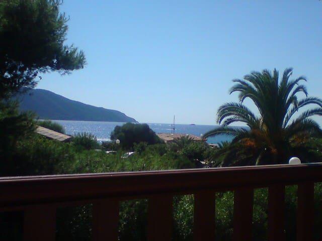 T2 terrasse vue mer plage à 100m - Appietto - Apartment