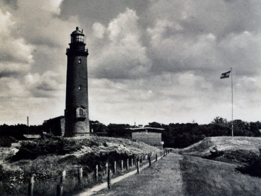 Prerower Leuchtturm damals