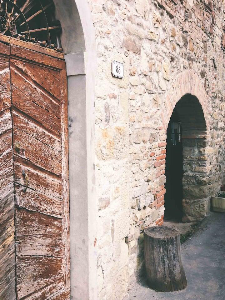 Old Villa between the castles