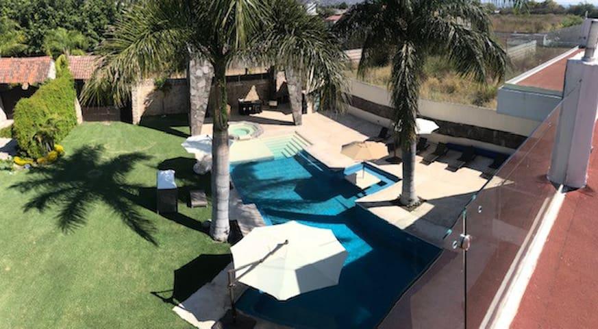 Residencia de lujo, Morelos +20per Caldera evento