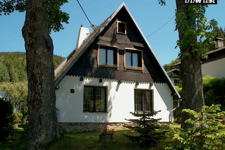 Vakantiehuis ertsgebergte Tsjechië - Stříbrná