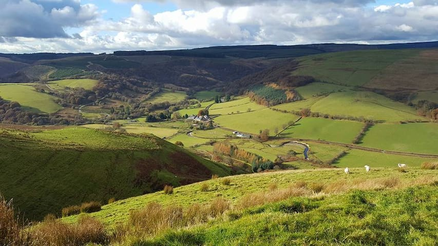 Doliar Self Catering Holiday Home in Abergwesyn