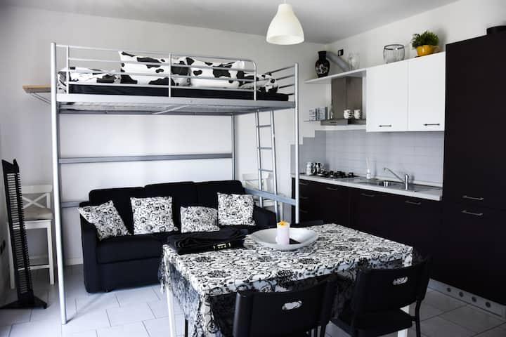 Appartamento NeroBianco(Lago di Como)