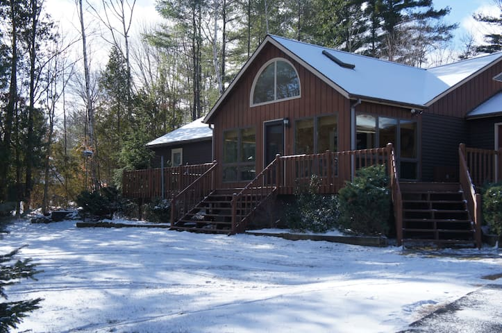 Stay at the Schroon Lake Lodge