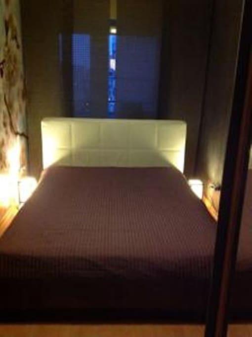 Спальня 1. Кровать 200*200