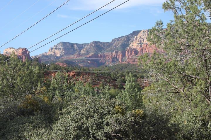 Big views killer location on  bike & hike trails
