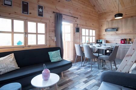 Cottages 5 personnes avec piscine chauffée - Tréguidel - Bungalow