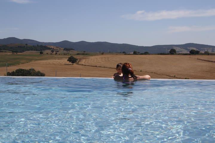 Appartamento Bilocale A con piscina - Pescia Fiorentina - Huoneisto