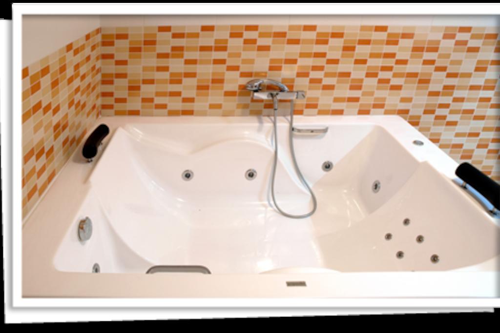 Bañera hidromasaje para dos personas uso privado