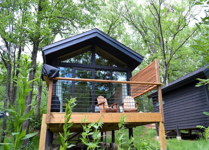 Cuyuna Cove Glamping Cabin- Next to trails/Main St