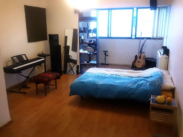 Bed in the living room - Tel Aviv-Yafo