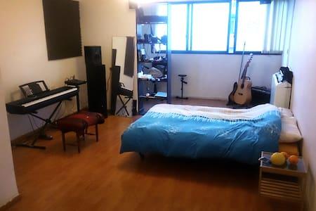 Bed in the living room - Tel Aviv-Jaffa - Huoneisto