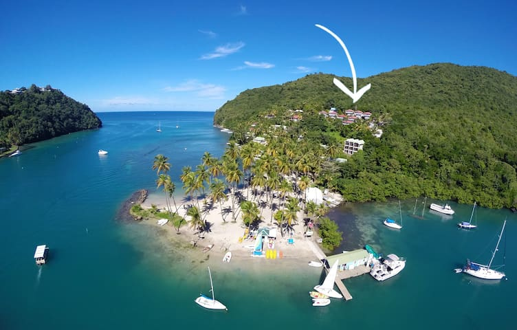 Private Sea Houses of Marigot Bay - Castries City