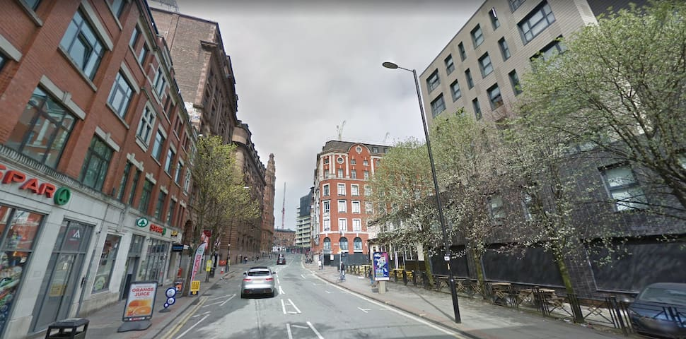 Entire apartment in the city centre of Manchester