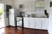 Fully-equipped kitchens for a self-catering experience..