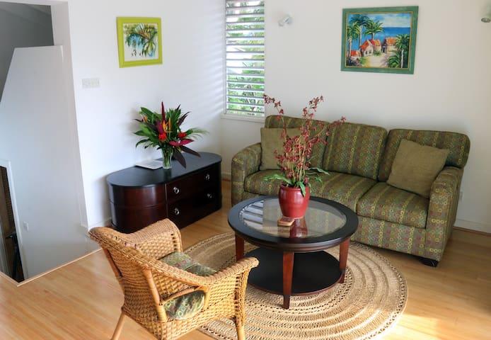 A cozy living area..