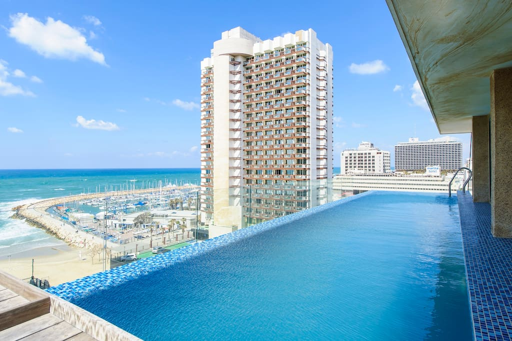 5 Star Luxury Heated Infinity Pool Apartments For Rent In Tel Aviv Yafo Tel Aviv District