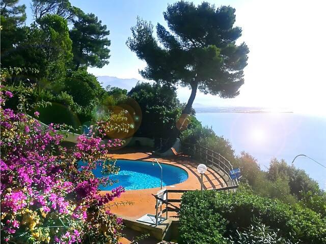 Liguria house overlooking the Gulf - Ameglia - Villa