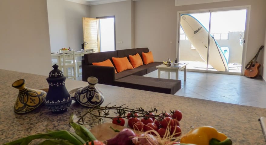 "MAD CAMEL Villa ""Alizé"" 4 pers - Dakhla - Appartement"