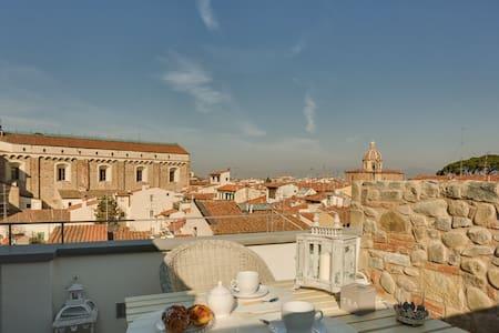 Serragli Terrace with view