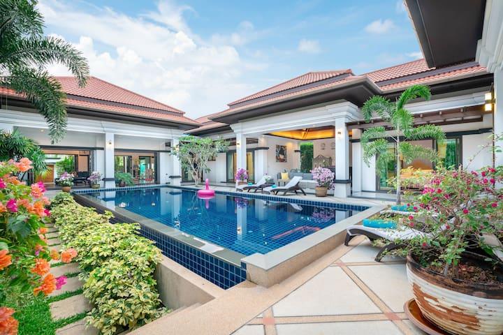 Luxuriöse private Pool-Villa Gelsomino Bang Tao