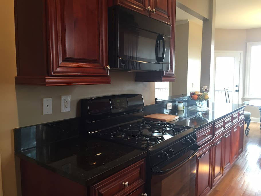 Spacious kitchen area to accommodate your needs.