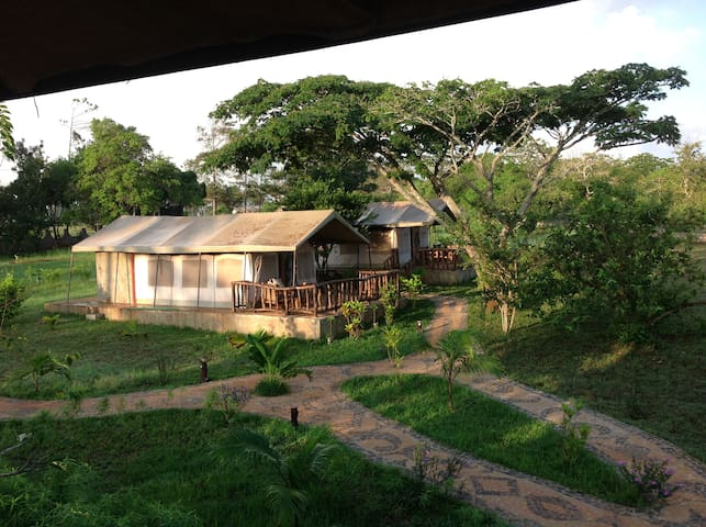 Affascinante Lodge in Shimba Hills - Mombasa - Stuga