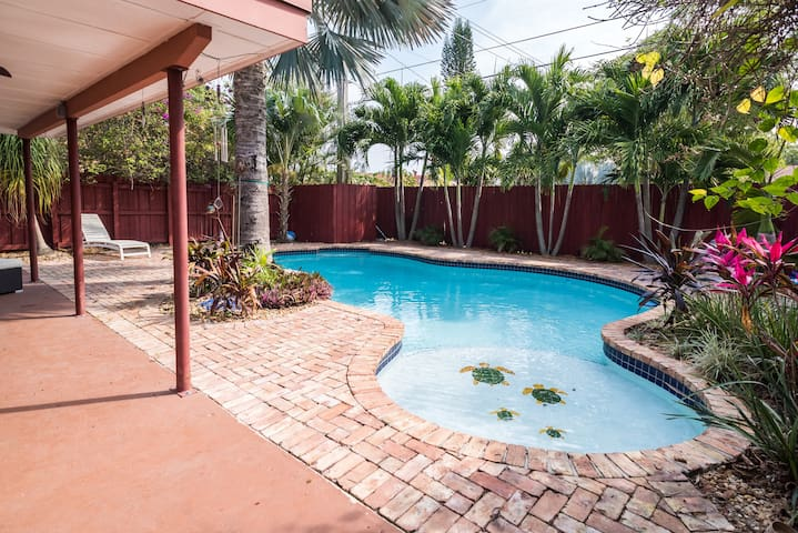 Gorgeous House (Garden Room) - Fort Lauderdale - Huis