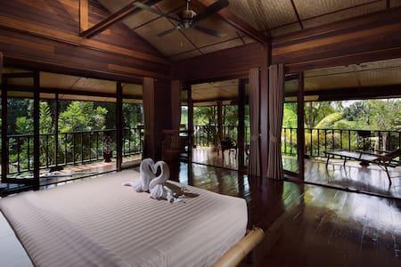 Luxury loft in wooden longhouse