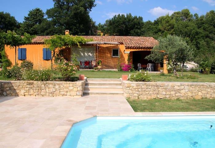 maison provençale avec piscine  - Mirabeau - 一軒家