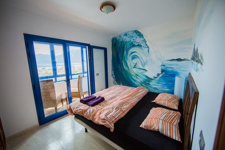 Comfortable Room With a Sea View - Caleta de Famara - Bed & Breakfast