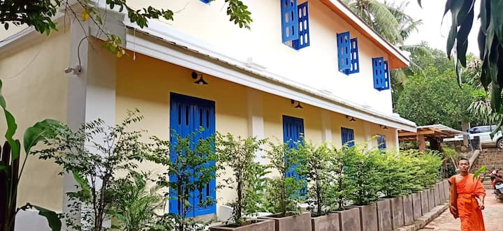New B&B in the historic center of Luang Prabang.