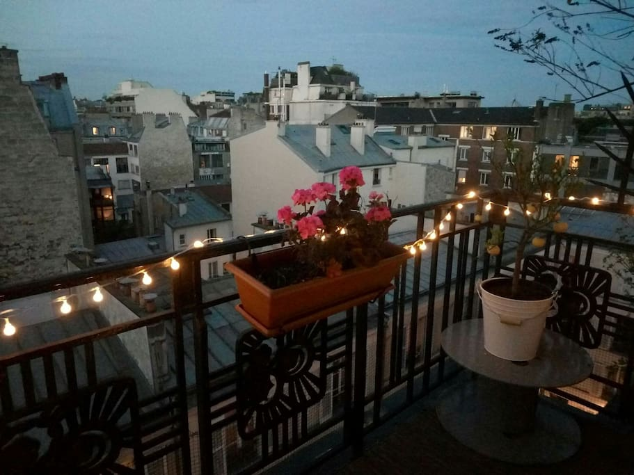 Balcon de nuit