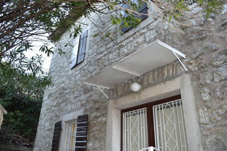 Old stone house with sea view - Herceg Novi - Huis