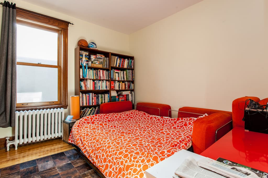 The Guest bedroom (this is where you will stay)