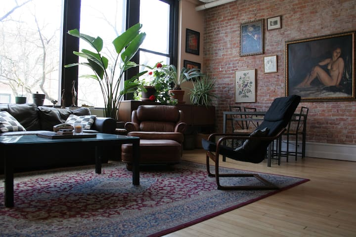 Spacious Room in DWTN Main St. Luxury Loft - Ann Arbor - Apartament