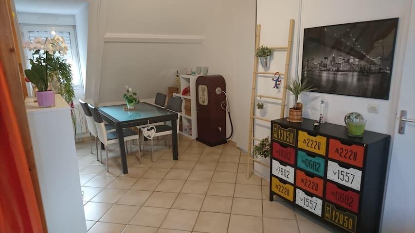 Appartement atypique proche de Paris - Attainville - Apartemen