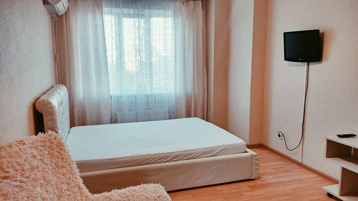 Светлая уютная квартира в новом доме.